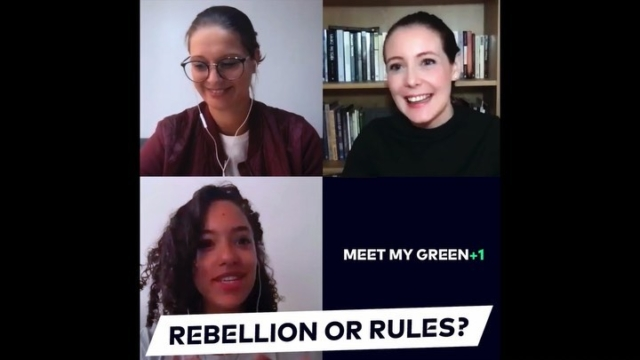 "How is transformation possible without losing orientation? This time our CEO Judith Kühn welcomes Clare Jones, CCO of @what3words, and Justine Porterie, who works as Head of Sustainability at @depop, for another episode of Meet My Green +1.🤗According to the motto ""Find your way"" our two green guests discuss how not only business but also each and everyone of us can make a contribution to a greener future.🍃In addition to this, they share their own lifehacks for a more sustainable lifestyle, so make sure not to miss this one!To watch the full episode just tap the link in our bio.👆🏻What will they choose?🤓Rebellion or RulesDetails or Big pictureVintage or NewFast or SlowIndividual or UniformUnderdog or Big brand#meetmygreen #findyourway #what3words #depop #sustainability #slowlifestyle #slowfashion #secondhand #vintage #greentechnology #greenfuture #greentechfestival #savetheplanet"